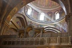 световой луч церков Стоковая Фотография