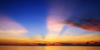 световой луч Стоковое Изображение