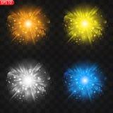 Световой эффект звезды бесплатная иллюстрация