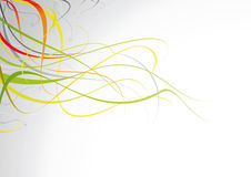 световые волны цвета иллюстрация вектора