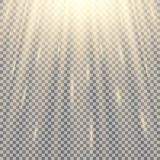 световые лучи иллюстрация вектора