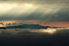 световые лучи Стоковое Фото