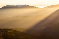 световые лучи Стоковые Фотографии RF