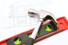 Светокопия дома Стоковая Фотография