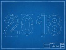 Светокопия 2018 Стоковое фото RF