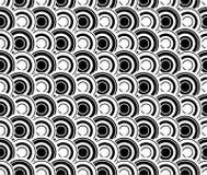 Светотеневая абстрактная безшовная картина Стоковые Изображения