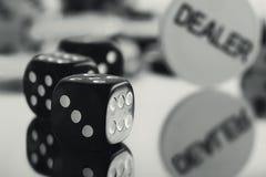 Светотеневая азартная игра Стоковая Фотография RF