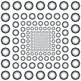 Светотеневая картина восьмиугольников Стоковые Изображения RF