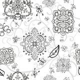 Светотеневая картина doodle Стоковые Фотографии RF