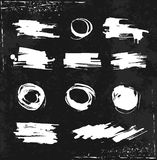 Светотеневая щетка в стиле grunge Стоковые Фотографии RF