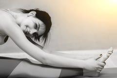 Светотеневое фото с световым эффектом Стоковые Фото