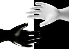 Светотеневые руки Стоковое Изображение RF