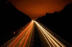 Светофоры долгой выдержки Стоковое Изображение RF