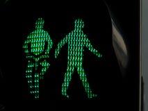 Светофоры для пешеходов и велосипедистов Стоковые Изображения