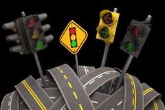 Светофор Стоковое Изображение RF