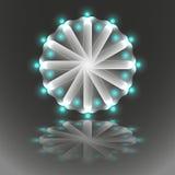 Светящая мандала Стоковое Изображение
