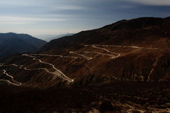 Светящая дорога Стоковые Фото