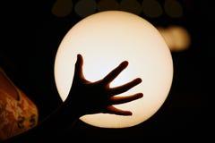 светящая сфера Стоковая Фотография