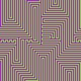 Светящий конспект выравнивает безшовную картину Стоковые Изображения RF