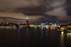 Светящий Стокгольм Стоковое Изображение