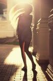 Светя девушка Стоковая Фотография RF