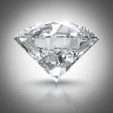 Светя диамант Стоковые Изображения