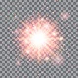 Светя звезда Стоковые Фото