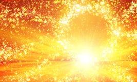 Светя круг звезд Стоковые Фото