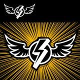 светя крыла Стоковое Изображение RF