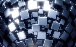 Обои метода металла Стоковые Фотографии RF