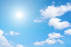 светя солнце Стоковое Изображение