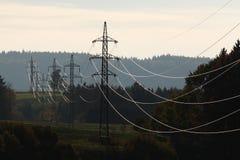 Светя электричество стоковые изображения