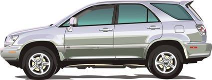 свет автомобиля allroad удобный иллюстрация штока