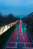 Свет автомобиля Стоковое фото RF