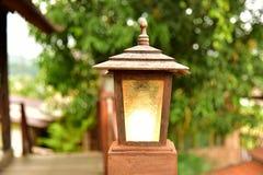 Свет лампы стоковые изображения rf