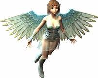свет ангела Стоковое Изображение