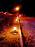 Светлая лампа на Таиланде Стоковая Фотография RF