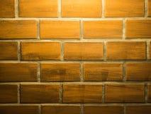 Светлая верхняя часть на текстуре кирпичной кладки Стоковая Фотография RF