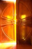 Светлая дверь Стоковые Изображения