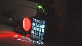 Светлая выставка в гостиничном комплексе в болгарине Kranevo сток-видео