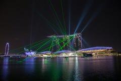 Светлая законцовка залива Марины выставки Стоковое Изображение