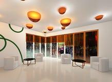 Светлая зала Стоковые Изображения RF