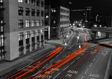 Светлая картина в Шеффилде Стоковые Фото