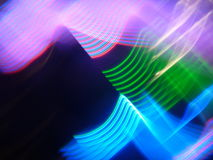 Светлая картина & невероятная светлая рефракция Стоковые Изображения