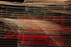 светлая картина Покрашенная стреловидность светов Стоковое фото RF
