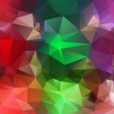 Светлая красная зеленая фиолетовая абстрактная предпосылка Стоковое Изображение RF