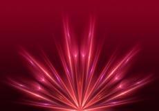 Светлая красная предпосылка Стоковые Изображения RF