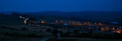 светлая дорога Стоковая Фотография RF