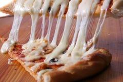 Светлая пицца стоковые фотографии rf