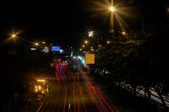 Светлая предпосылка города почти Стоковая Фотография RF